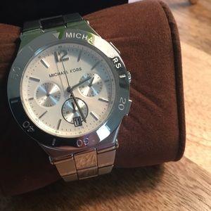Brand new MK silver watch